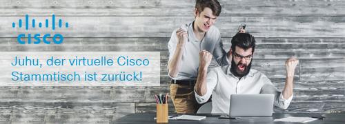 Der virtuelle Cisco Stammtisch für Comstor Partner ist zurück!