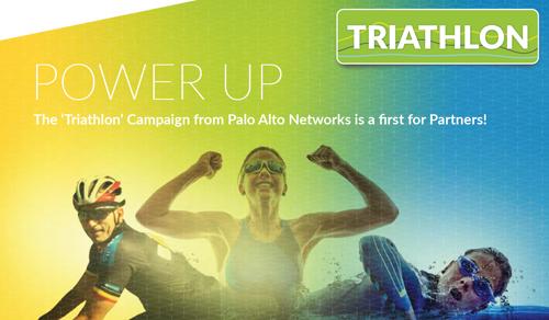 Palo Alto Networks Triathlon Kampagne