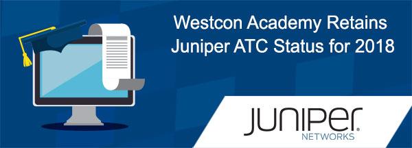Westcon Academy Retains Juniper ATC Status for 2018
