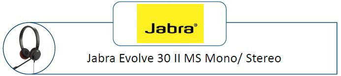 Jabra Evolve 30