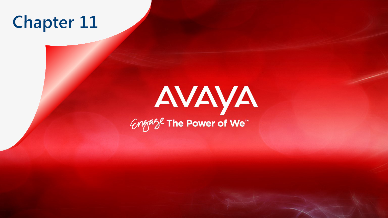 Avaya Out of CH11