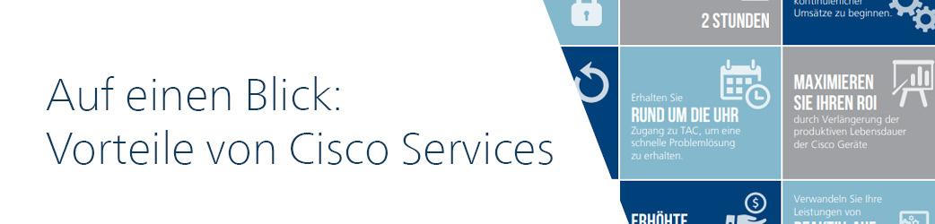 Vorteile der Cisco Services