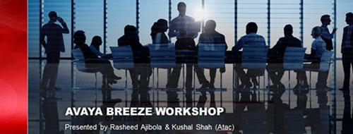 Breeze Workshop