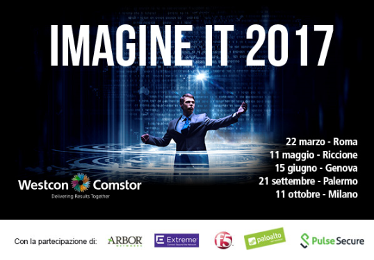 IMAGINE IT 2017 ROMA
