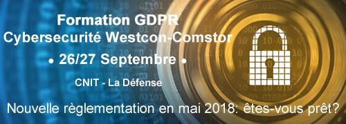 Formation GDPR Westcon-Comstor