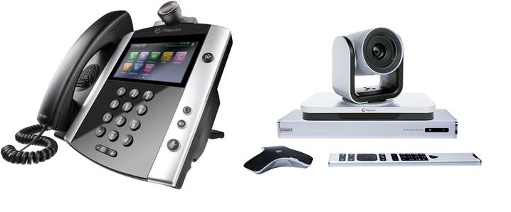 Polycom soluzioni Audio e Video